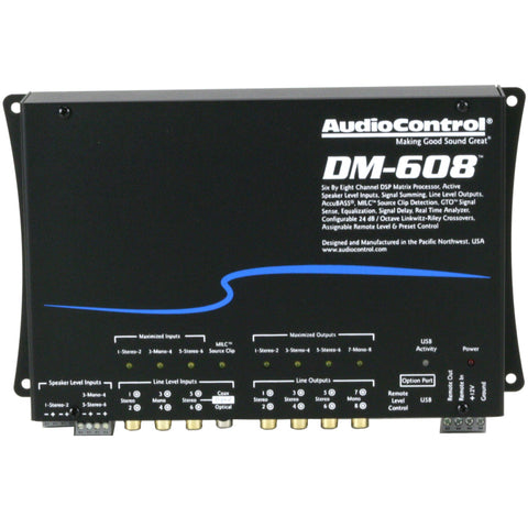 AudioControl-DM-608