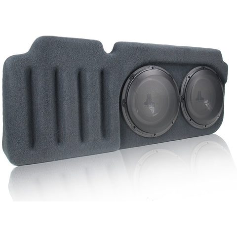 JL Audio SB-GM-SLVEXT2/10W1v3/DG Stealthbox for 2007-2013 Chevrolet Silverado / GMC Sierra Extended Cab Trucks SKU# 94468