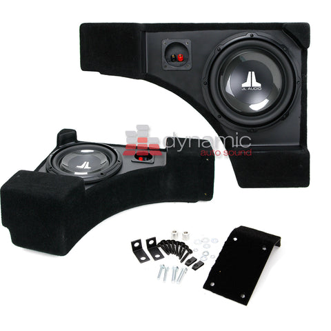 JL Audio SB-GM-CAMCONV/10W1v3 Stealthbox for 2011-2015 Chevrolet Camaro Convertible SKU# 94526