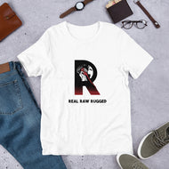 REAL RAW RUGGED - Short-Sleeve Unisex T-Shirt