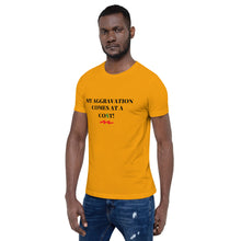 Load image into Gallery viewer, MY AGGRAVATION COMES AT A CO$T - Short-Sleeve Unisex T-Shirt