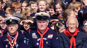 Malahide Sea Scouts Centenary Photograph
