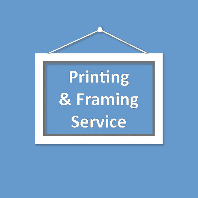 Printing and Framing Service