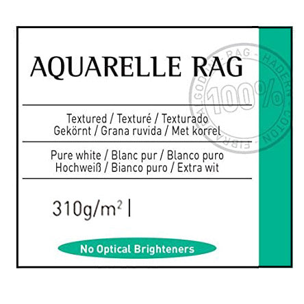 Canson Aquarelle Rag 310gsm (Formerly Arches)