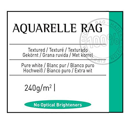 Canson Aquarelle Rag 240gsm (Formerly Arches)