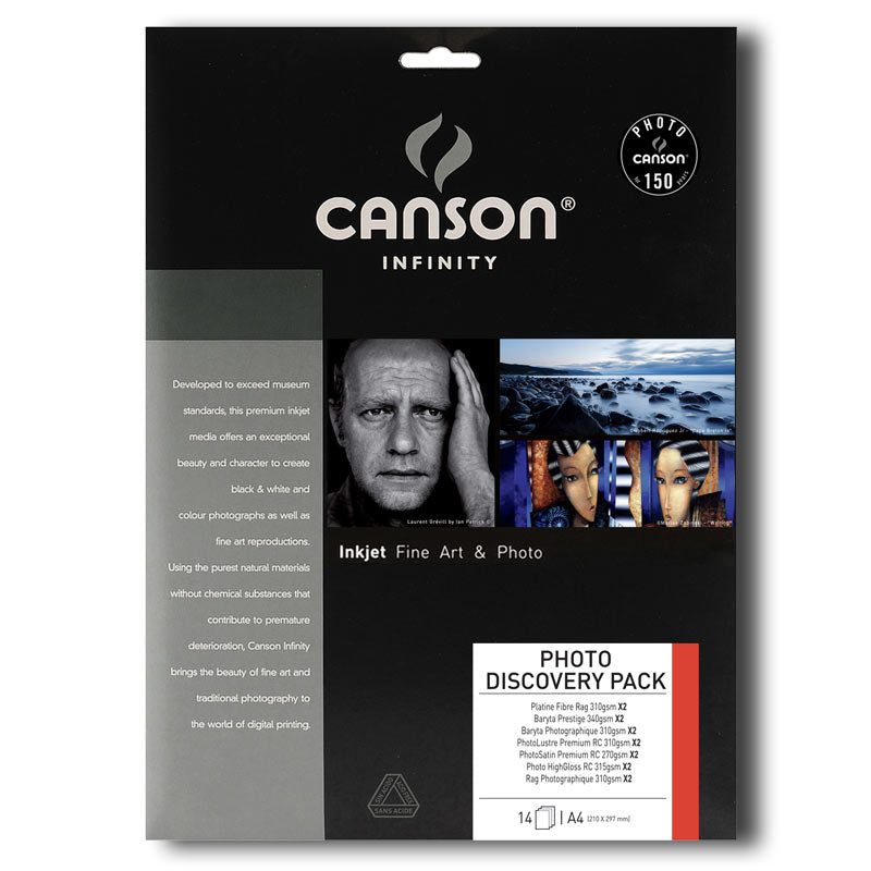 Canson Photo Discovery Pack. 14 Sheets