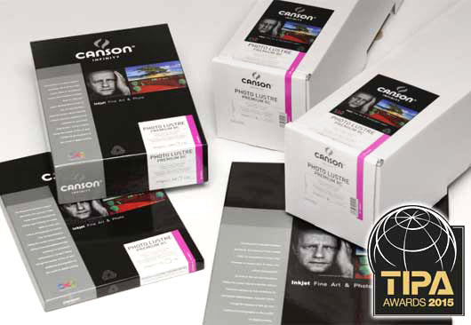 Canson Photo Lustre Premium 310gsm **TIPA Winner**