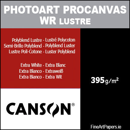Canson PhotoArt Pro Lustre Canvas 395gsm