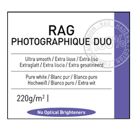 Canson Rag Photographique Duo 220gsm