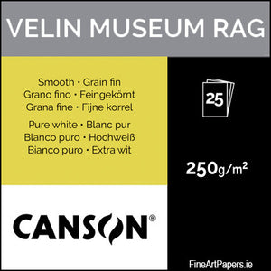 Canson Velin Museum Rag 250gsm