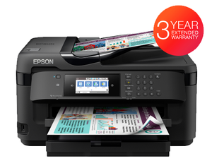 Epson Workforce WF-7710DWF Multi-function Printer. (A3+ printer with A3 Scanner)