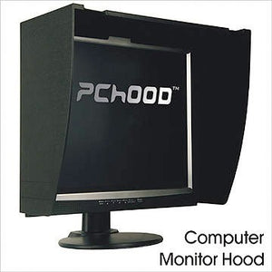 "PCHood. Fits monitors from 15"" to 26"" (Some 27"" )"