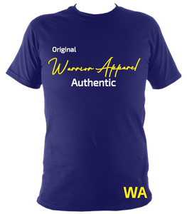 warrior apparel authentic t shirt