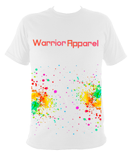 Load image into Gallery viewer, childrens splatter warrior t shirt