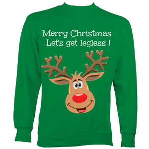 Legless christmas jumper
