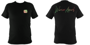 warrior apparel t shirt