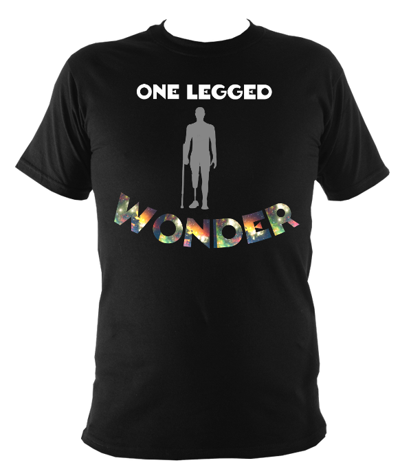 One legged wonder childrens amputee t shirt