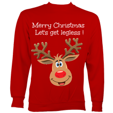 Load image into Gallery viewer, Legless christmas jumper