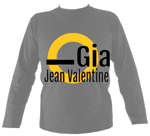 gia jean valentine long-sleeved t shirt