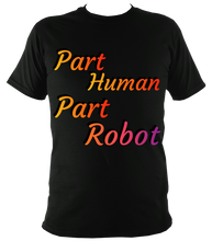 Load image into Gallery viewer, part robot amputee t shirt