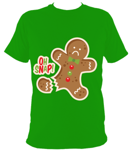 Christmas oh snap t shirt