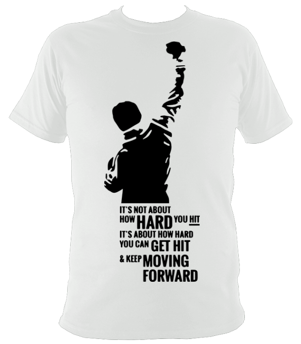 rocky quote t shirt