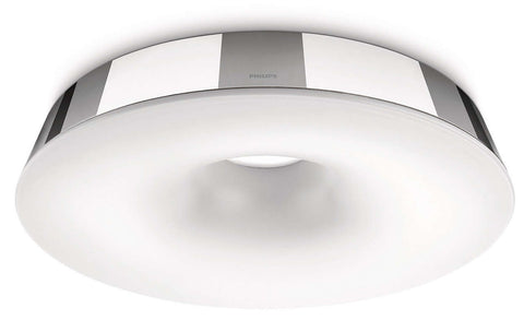 Philips MyBathroom HOLE Chrome Ceiling Light - LED Bulb Centre Ltd