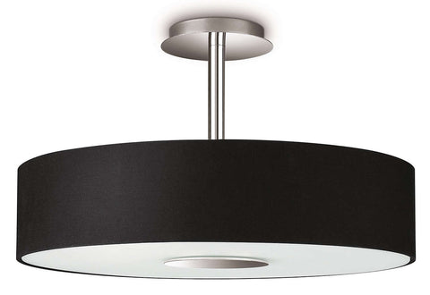 Philips MyLiving FLORA Black Ceiling Light - LED Bulb Centre Ltd
