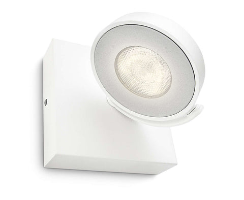 Philips myLiving CLOCKWORK White 4W LED Ceiling/Wall Light - LED Bulb Centre Ltd