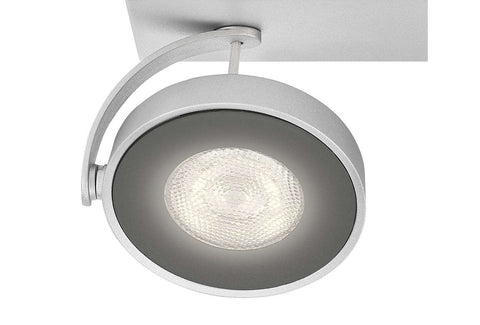 Philips myLiving CLOCKWORK Aluminium 4W LED Ceiling/Wall Light - LED Bulb Centre Ltd