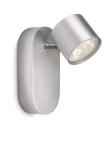 Philips myLiving STAR SPOT Aluminium 3W LED Wall Light - LED Bulb Centre Ltd