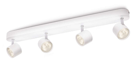 Philips myLiving STAR BAR SPOT White 4x3W LED Ceiling Light - LED Bulb Centre Ltd