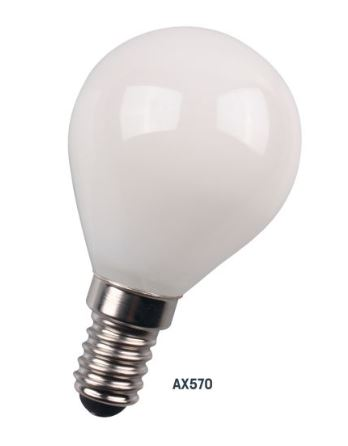 Amitex 4W Columba E14 Dimmable Golf Ball Lamp