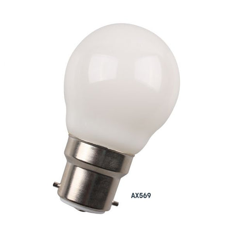 Amitex 4W Columba B22 Dimmable Golf Ball Lamp