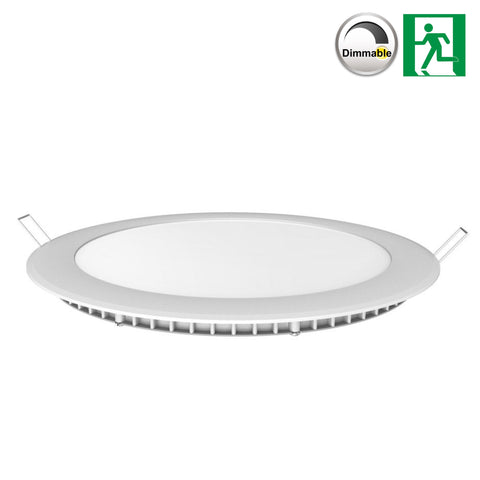 V-TAC Slimline LED Round Downlight / Panel Light (6W To 24W) - LED Bulb Centre Ltd