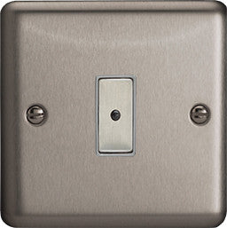 Varilight Classic Eclique2 Remote Control/Touch Dimmers - Brushed Steel - LED Bulb Centre Ltd