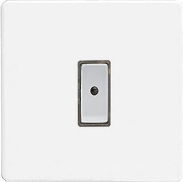 Varilight Screwless Eclique2 Remote Control/Touch Flat Plate Dimmers - Premium White