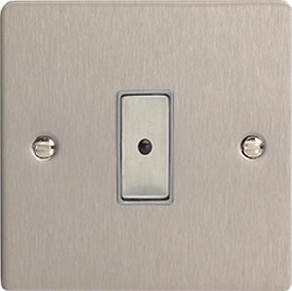 Varilight Ultraflat Eclique2 Remote Control/Touch Dimmers - Brushed Steel - LED Bulb Centre Ltd
