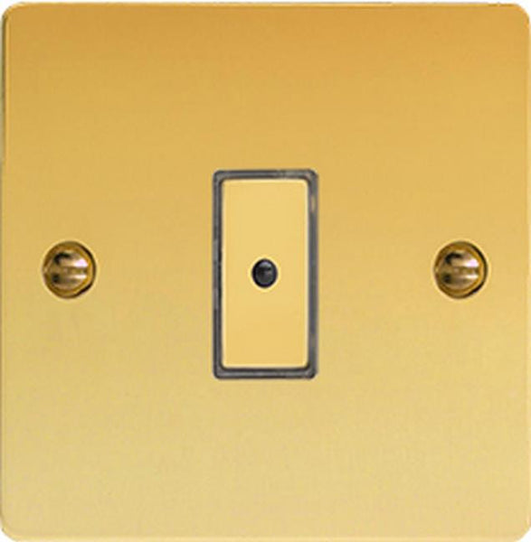 Varilight Ultraflat Eclique2 Remote Control/Touch Dimmers - Polished Brass - LED Bulb Centre Ltd