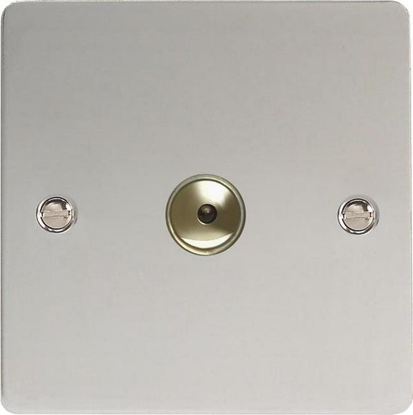 Varilight Ultraflat V-Pro IR Remote Control/Touch Dimmers - Polished Chrome - LED Bulb Centre Ltd