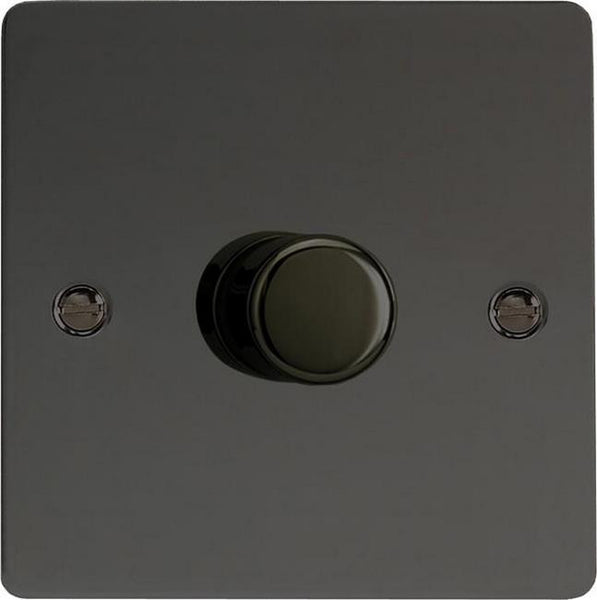 Varilight Ultraflat V-Pro Professional Series Dimmers - Iridium Black - LED Bulb Centre Ltd
