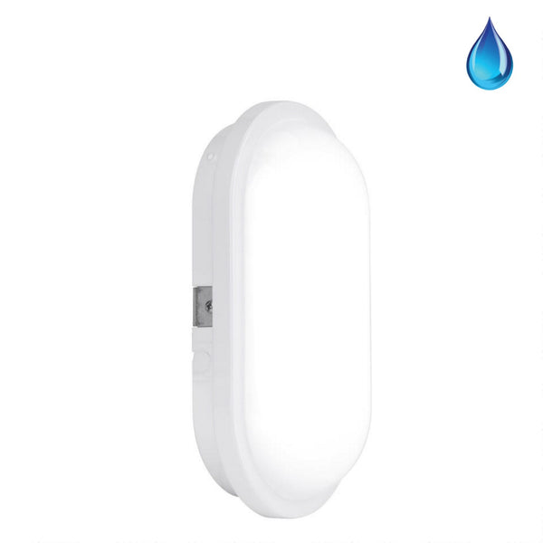 Enlite Bulkheads - Enlite IP65 Utility Oval LED Bulkhead (15W To 20W)
