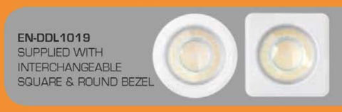 Enlite Spryte 10W Dimmable Fixed Downlight - LED Bulb Centre Ltd