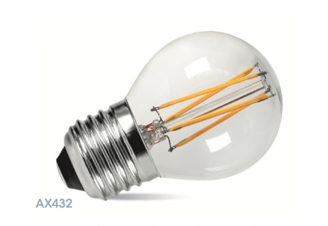 Amitex 3.5 Watt E27 Dimmable Filament Golf Ball Lamp   LED Bulb Centre Ltd