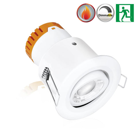 LED Downlight - Enlite EN-DE8 8W LED Downlight - Adjustable