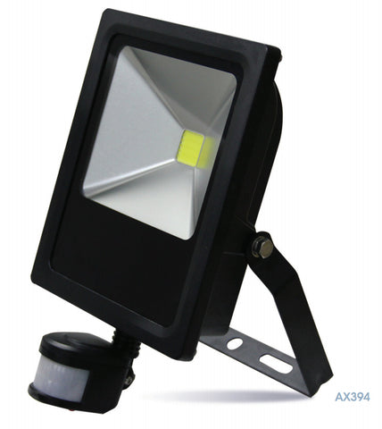 LED Floodlights - Amitex PIR LED Floodlight With Override Facility (10W To 50W)