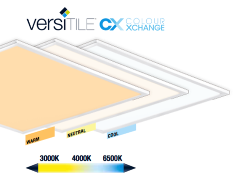 Aurora 30W Colour Xchange LED Panel Light 600 x 600mm - LED Bulb Centre Ltd