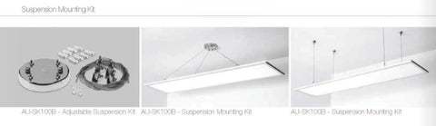LED Panels - Aurora 38W LED Flat Panel Light Versitile 1200 X 300mm