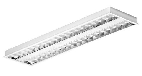 LED Panels - Enlite 33W LED Louvred Troffer Panel 1200 X 300mm
