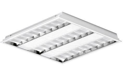 LED Panels - Enlite 33W LED Louvred Troffer Panel 600 X 600mm